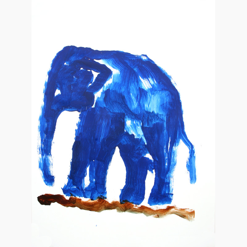 Elephant painting from Exotic World Gifts