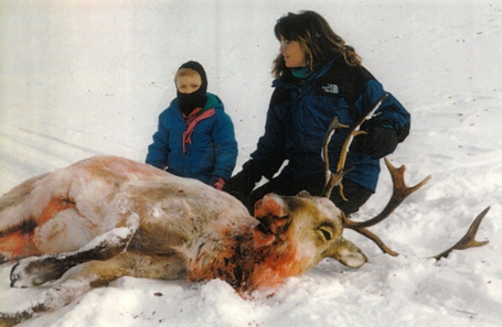 Sarah Palin moose hunting