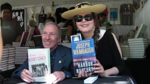 Joseph Wambaugh and Tere Tereba