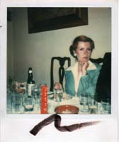 Tere Tereba, photo by Andy Warhol